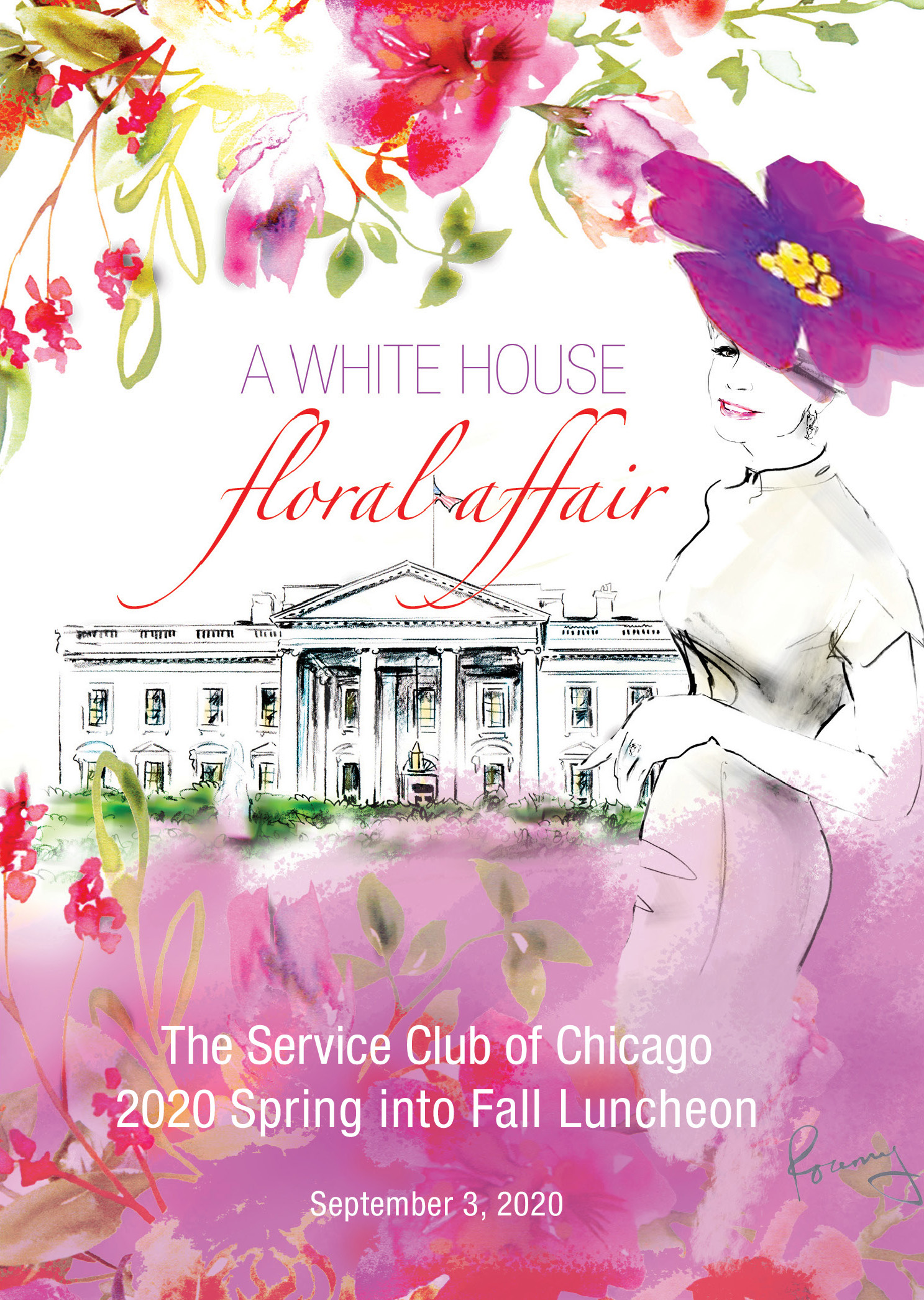 A White House Floral Affair - 2020 Spring-into-Fall Luncheon